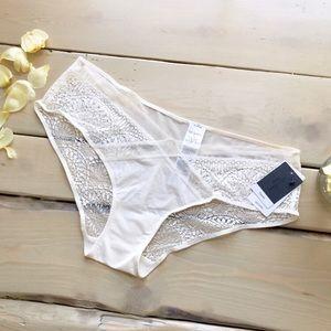 Calvin Klein Black Bridal Collection Ivory Panty